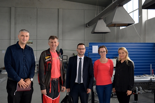 Visit to foreign companies in BiH